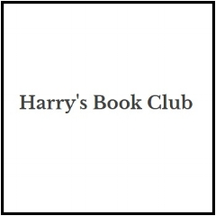 Book blogger - Harrys Book Club - Lounge Books