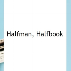 Book blogger - Halfman Halfbook - Lounge Books