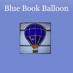 Book blogger - Blue Book Balloon - Lounge Books