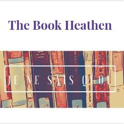 Book blogger - The Book Heathen - Lounge Books