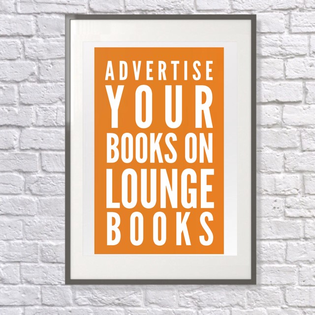 Lounge Books - Ad - Promote your books on Lounge Books