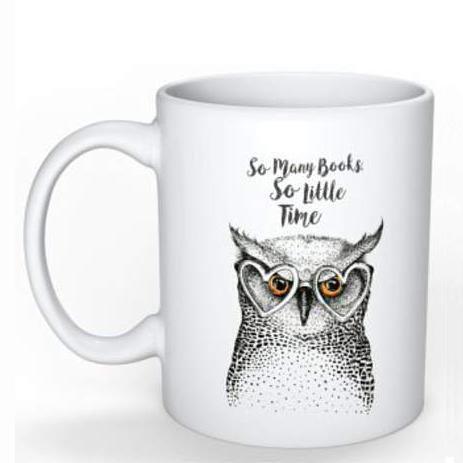 Lounge Books - Easy - Owl Mug