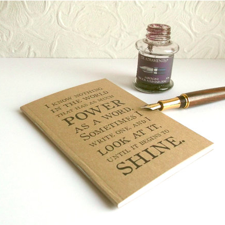 Lounge Books - Etsy - Pad power of word