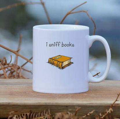 Lounge Books - Etsy - I sniff books