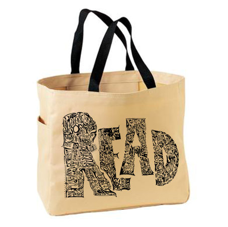 Lounge Books - Etsy - Read bag