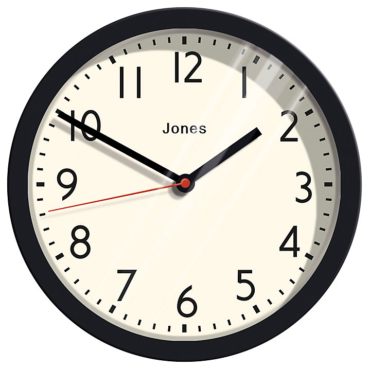 Lounge Books - John Lewis - Wall Clock