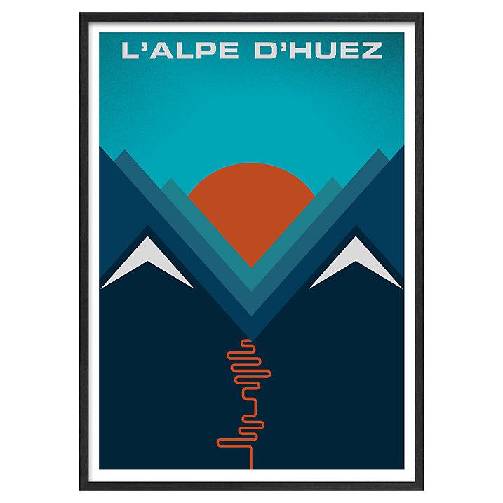 Lounge Books - John Lewis - DHuez poster