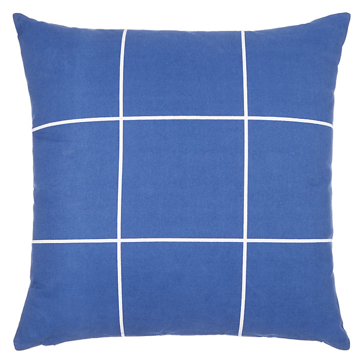 Lounge Books - John Lewis - Blue Cushion