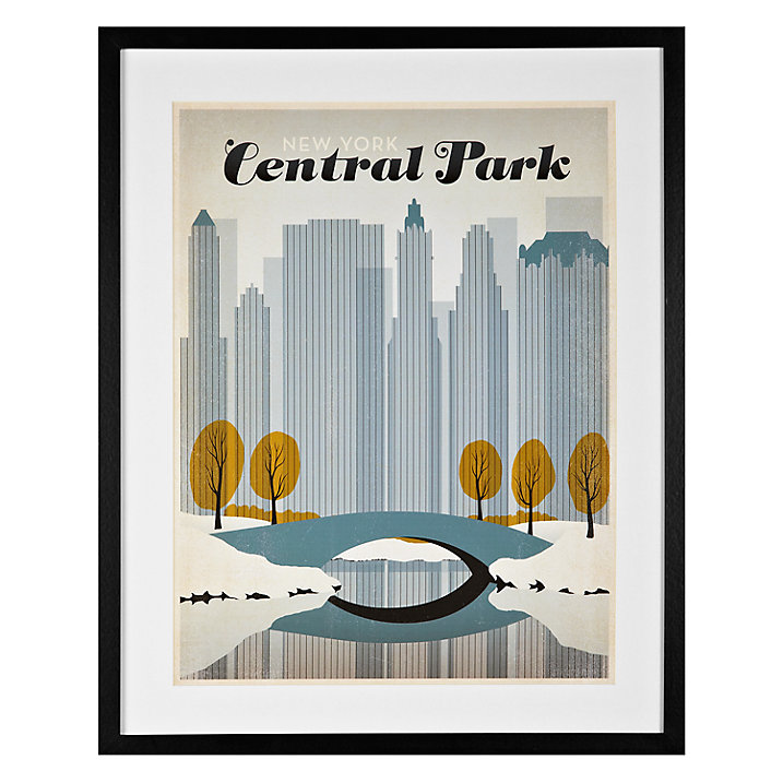 Lounge Books - John Lewis - Central Park poster