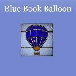 Lounge Books - Bloggers - Blue Book Balloon