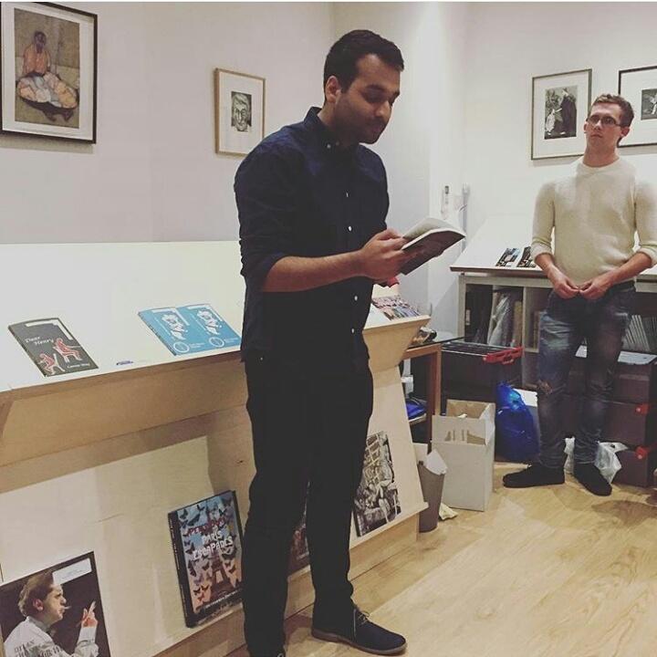 Lounge Books - Contributors - Kasim Mohammed