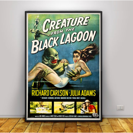 LB - Image - Horror Lounge - Merch - Creature from the Black Lagoon PosterCreature from the Black Lagoon Poster.png