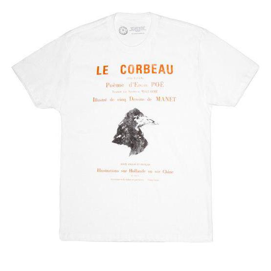LB - Image - Horror Merch - Edgar allan poe tshirt french.png