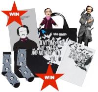 Win a ravenous bundle of Edgar Allan Poe goodies