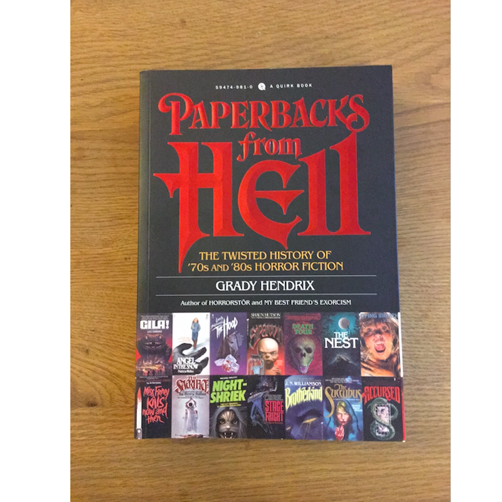 Post your horror covers on Instagram and win Paperbacks from Hell