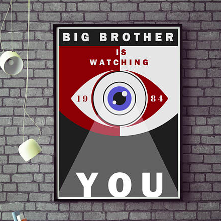 1984 Big Brother Poster    £10.00