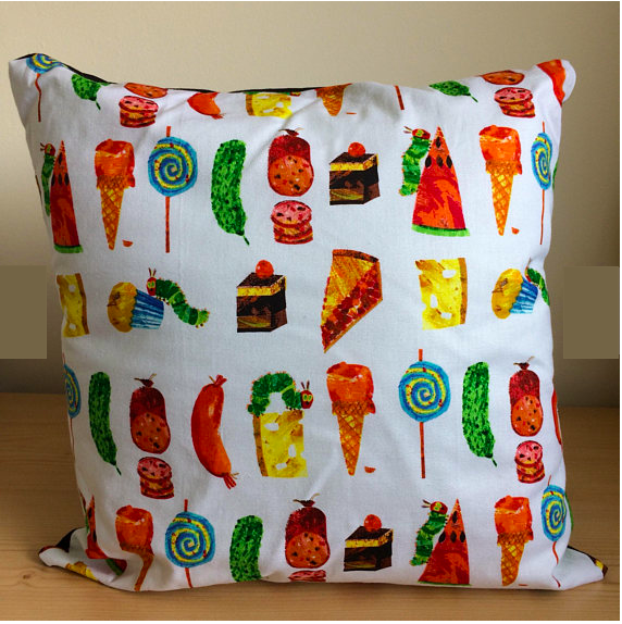 Very Hungry Caterpillar Cushion    £8.00