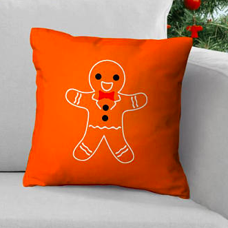 Gingerbread Cushion    £14.95