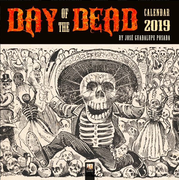 This art calendar showcases 12 works inspired by the Day of The Dead festival.    £9.99