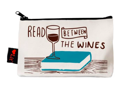 Read between the wines pencil case    £8.99