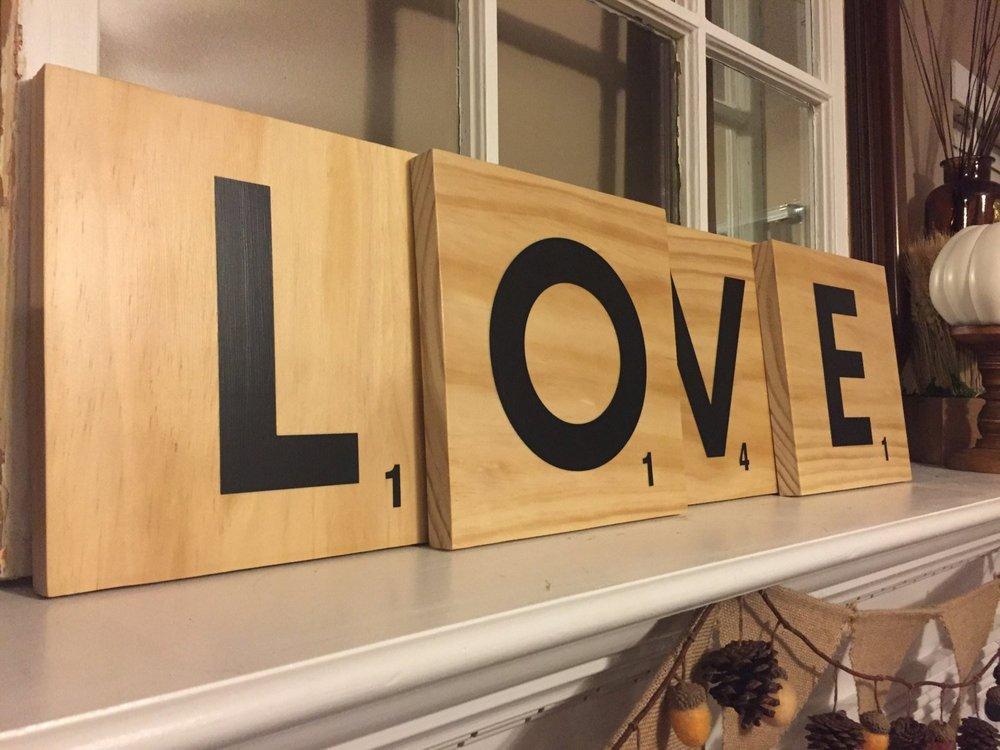 LOVE Scrabble    £16.11