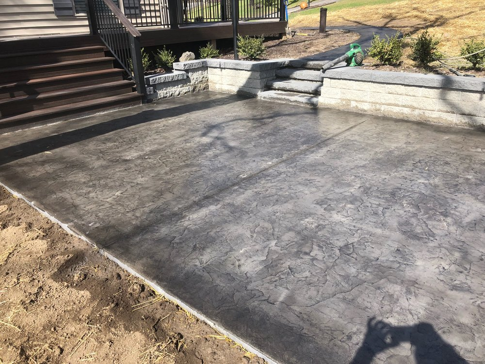 Concrete Contractor, Commercial/residential Decorative Concrete, Stamped  Concrete, Stained Concrete, Ashlar Slate, Arizona Flagstone, Seamless  Slate, ...
