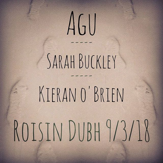 Playing an acoustic set next Friday in the Roisin with two really great artists!  @agumusic  @sarahbuckleymusic @roisindubhpub #music #gig #Galway #originalmusic #acoustic #livemusic #ambient #folk #snowstorm #obligitorysnowpic