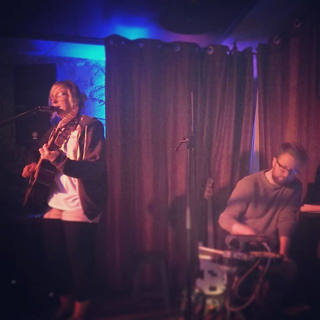 Really enjoyed sharing the stage with @agumusic last night! #gig #music #live #roisindubh #acoustic #ambient #independentartist #loops #layers #galway #galwaymusic
