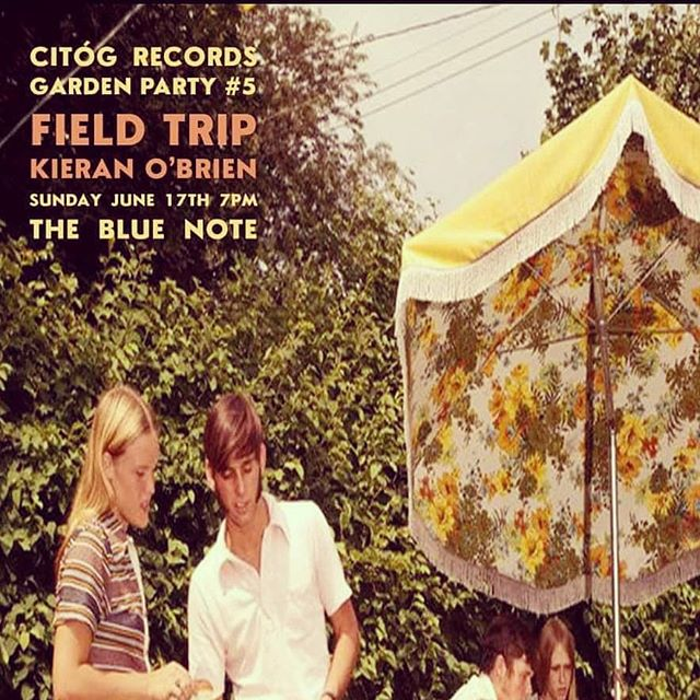 The Sunday sessions are back! ☺ Pop in to the Blue note this Sunday for a few tunes with myself and Field Trip! @citogrecords @bluenotebargalway #galway #galwaycity #summer #music #live #band #citogrecords #local #instagram