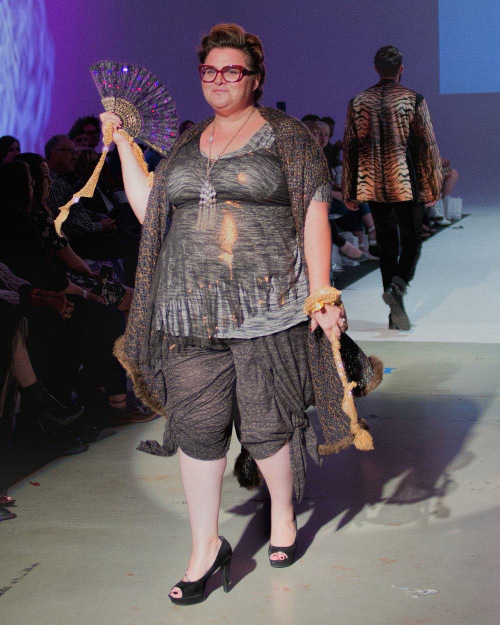 Heidi Oeschel Wearing Lily Guilder