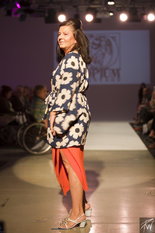 Glenda Turner Wearing Opium Vintage