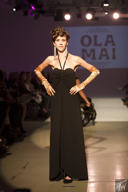 Lorin Hendrixson Wearing Ola Mai