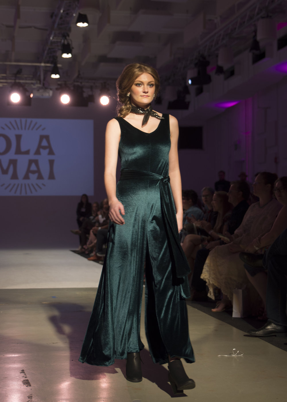 Mariah Daniel Wearing Ola Mai
