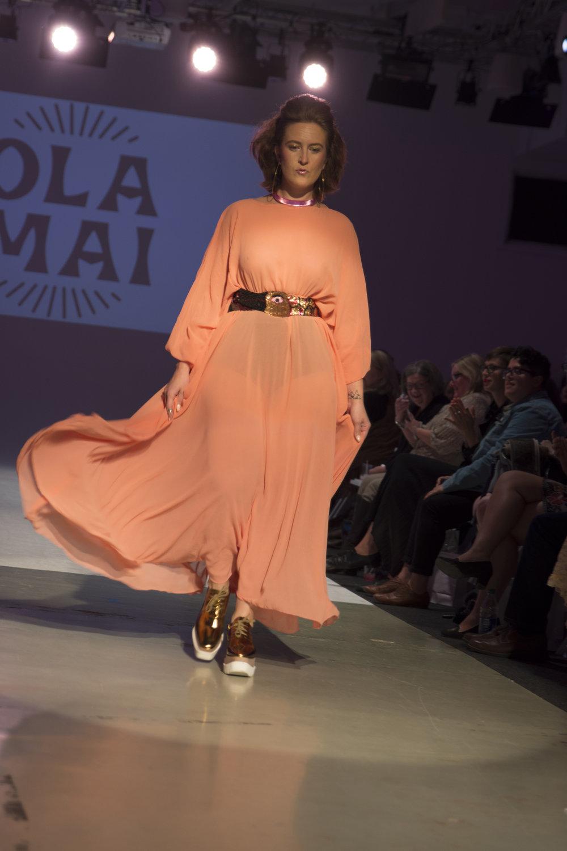 Rachael Sue Ragland Wearing Ola Mai