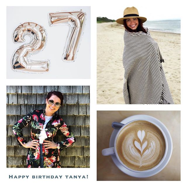 we feel lucky every day to have this beautiful, wonderful Instagram queen 👑 as part of our ACK Eye family 💗if you see Tanya today, wish her the happiest year to come! 🎂