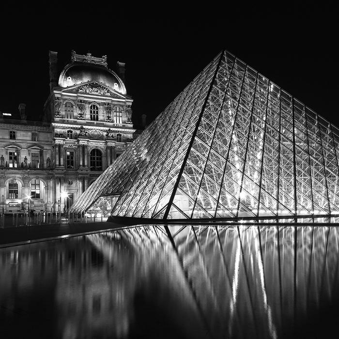 20. Le Louvre, study I - 2014