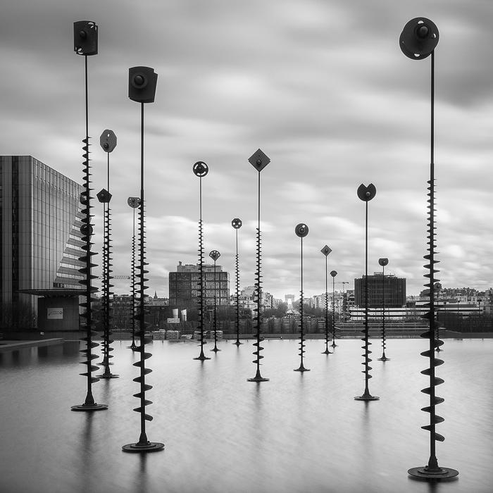 14. La Défense, study VIII - 2014