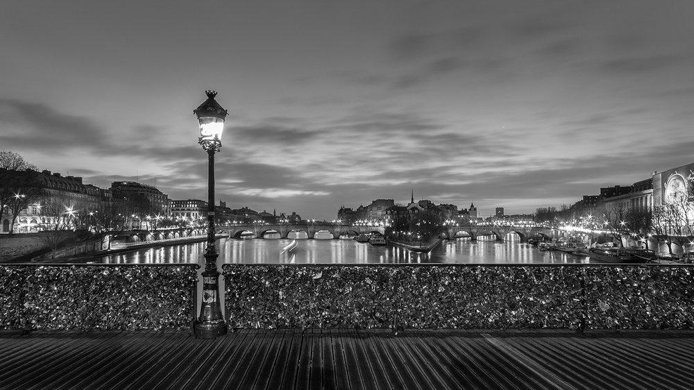 26. Pont des Arts, study I - 2014