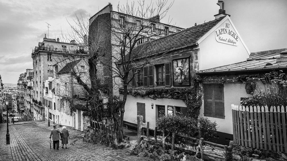 29. Montmartre, study I - 2014