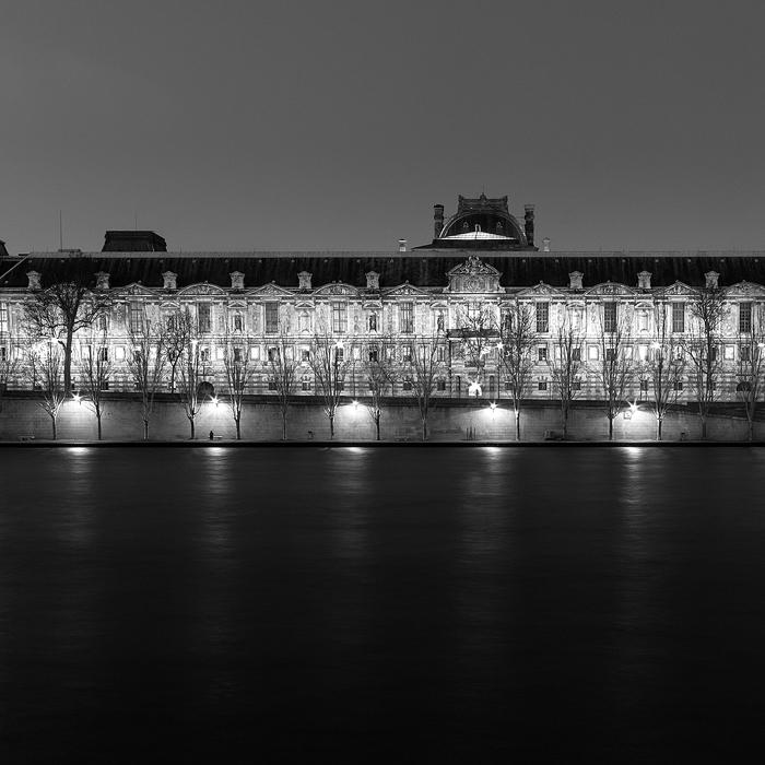 02. Le Louvre, study III - 2014