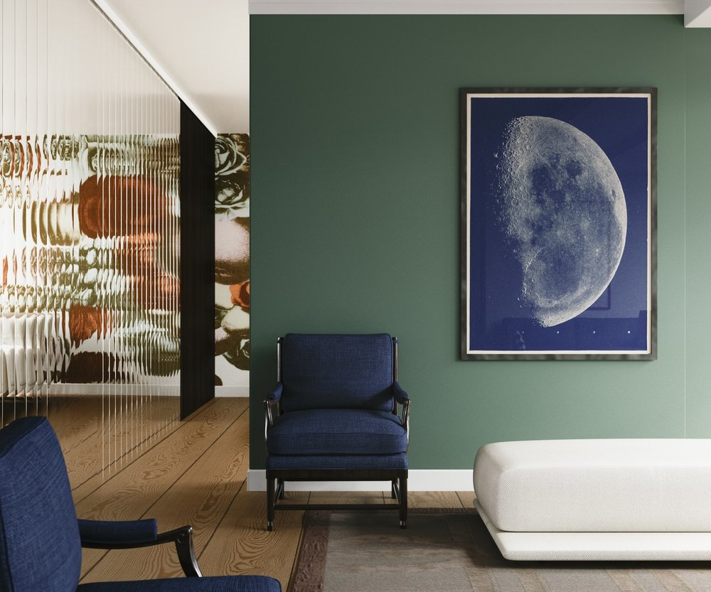 Moon Painting in Context