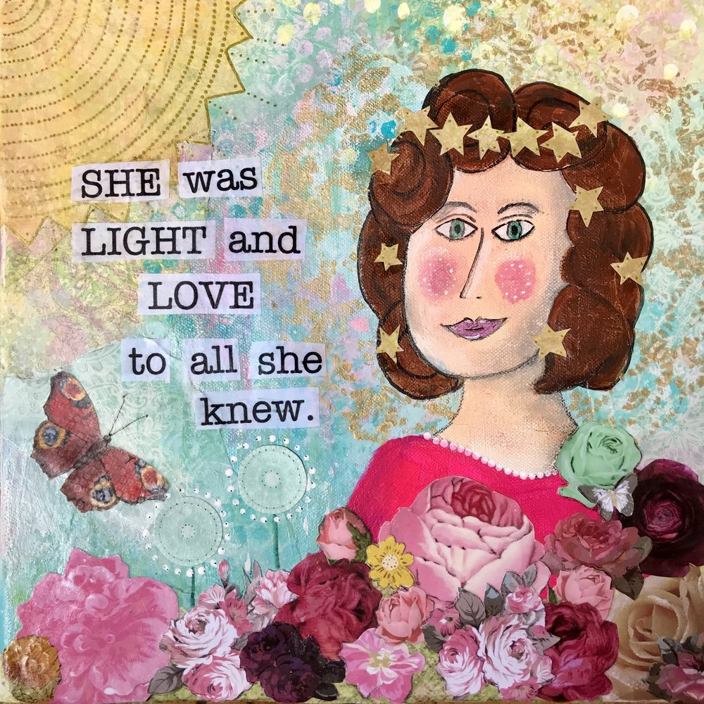 She was Light and Love