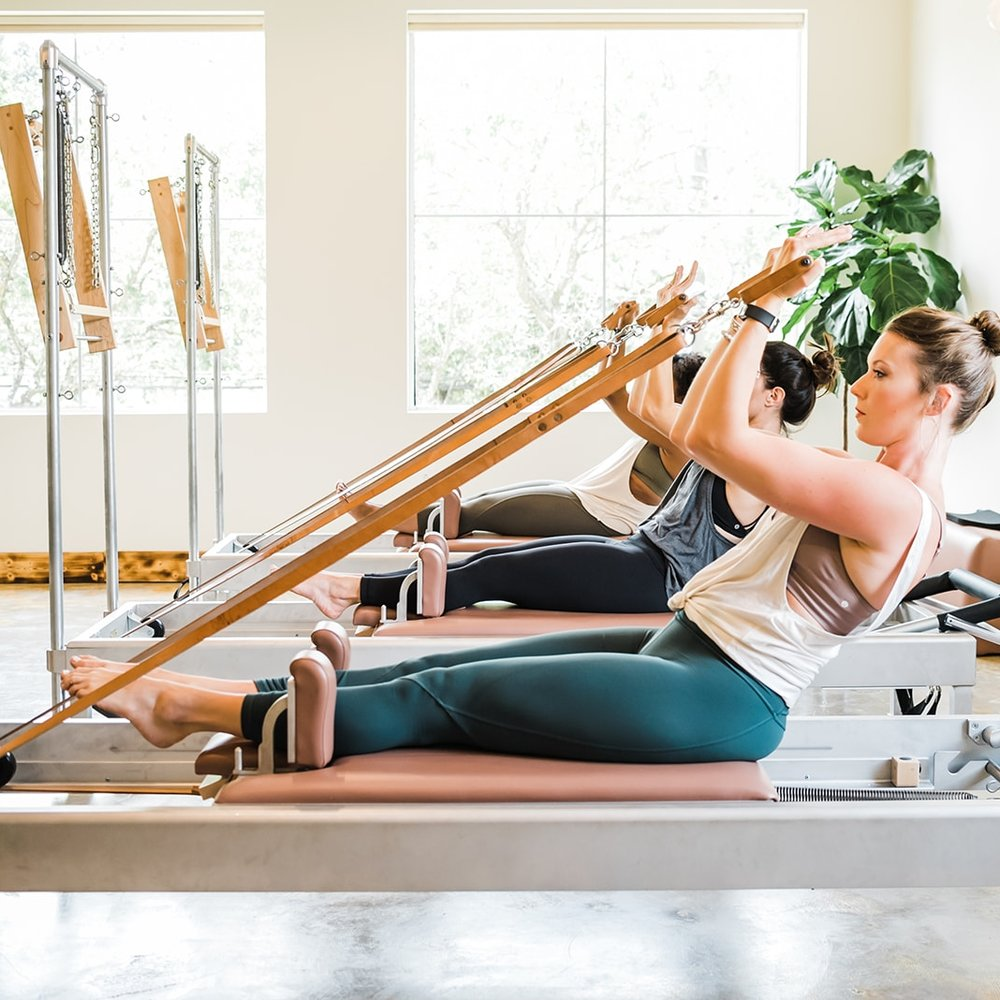 Rowing II on the Reformer Tower
