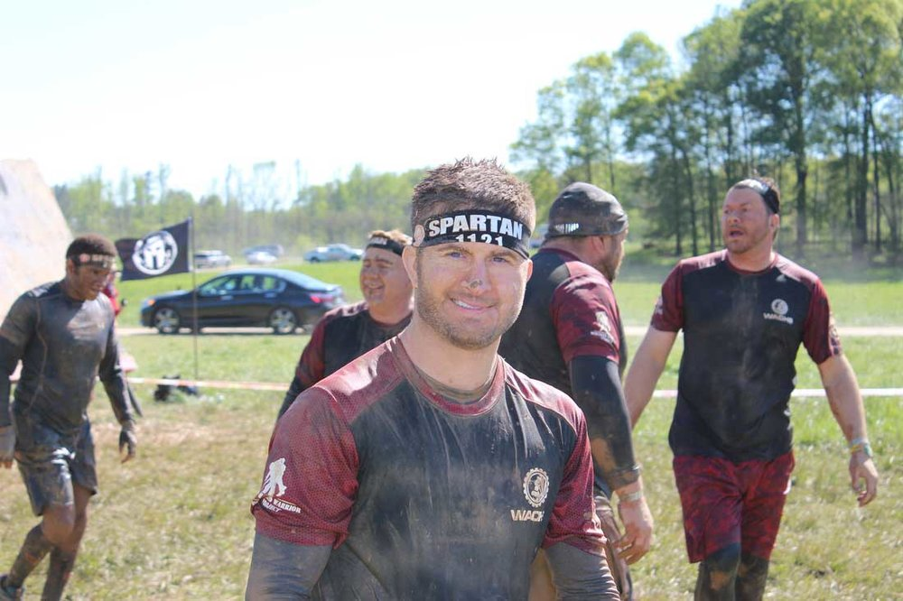 April 2016  Spartan Race - Wachs raises $5000 for  Wounded Warriors  and  Make-A-Wish Foundation !