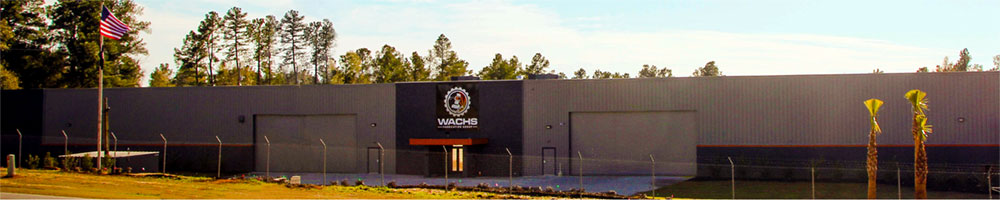 Wachs Fabrication Group facility, located conveniently in Jackson, SC
