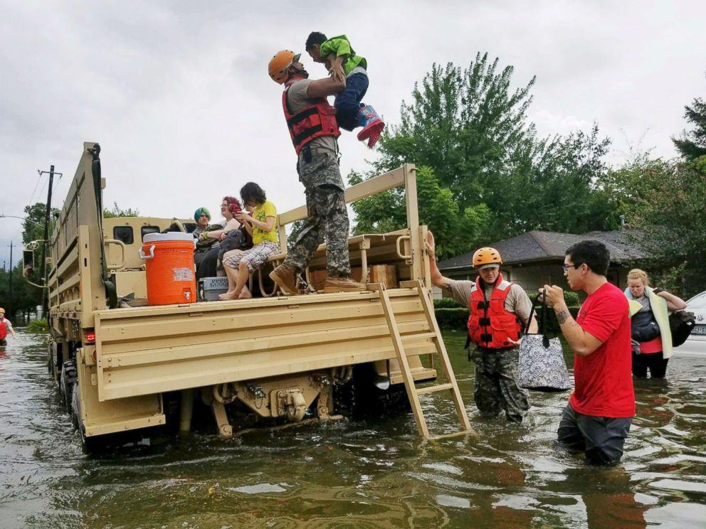 Texas National Guard. Photo courtesy ABC News