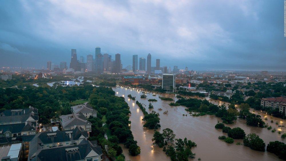 Aftermath of Hurricane Harvey. Photo courtesy CNN