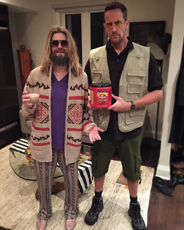 """That rug really tied the room together."" — #Halloween16 #TheBigLebowski #TheDude #Walter"