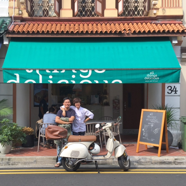 OUR NEW HOTSPOT AT 34 ARAB STREET