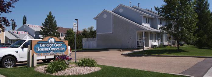 Davidson Housing Co-op in Sherwood Park, AB.